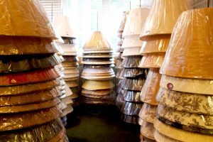 Huge selection of lamp shades in stock.